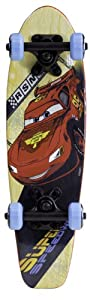 Buy Disney Cars Kid's 95 McQueen Wood Cruiser Skateboard, 21-Inch by Disney