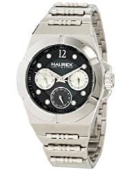 Haurex Italy Women's 7A340DNM Yacht Black Dial Watch