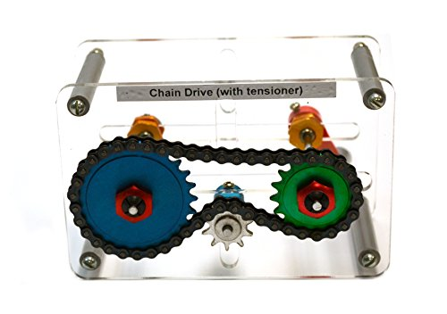 Mechanical Demostration Model - Chain Drive with Tensioner