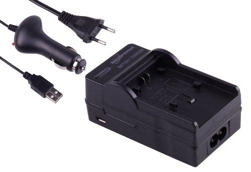 Photoprimus 3in1 Schnell Ladegerät mit Sicherheits- Abschaltautomatik inkl. KFZ, Netz und USB Anschluss. Passend für den Akku Canon BP-727 Passend für: Canon Legria HF R36 Legria HF R37 Legria HF R38 Legria HF R46 HF R48 HF R306 HF M56 HF M52 HF M506