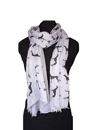 bluey-grey-with-black-big-greyhound-scarf-with-frayed-edge-lovely-long-soft-scarf-fantastic-gift
