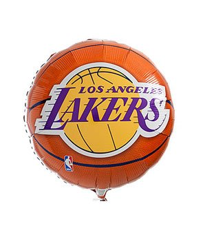 Los Angeles Lakers 18in. Foil Balloons 3 in a Pack