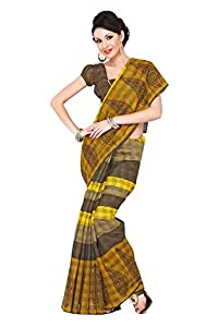 Prasann Fashion Cotton Silk Bhagalpuri Saree