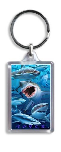 Artgame - Sharks - 3D Keyrings - 1