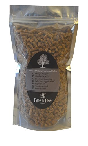 Bear paw products premium maple wood pellets 1.5 lb bag. easy to use