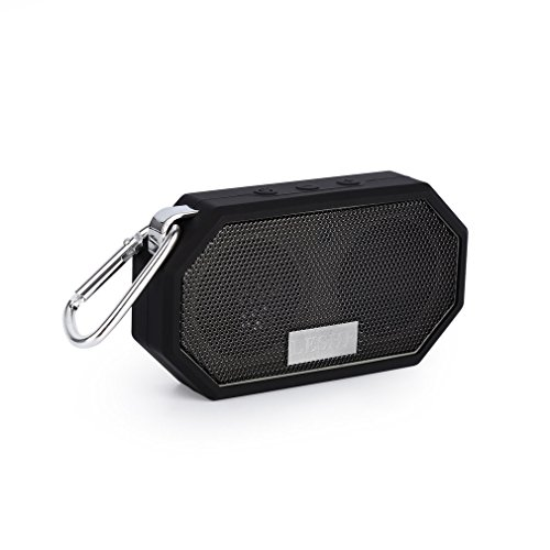 Bluetooth-Lautsprecher-LESHP-kabellos-tragbar-Stereo-Musikbox-Mini-Portable-Bluetooth-Lautsprecher-starker-Bass-High-Definition-Audio-IP66-Spritzwassergeschtzt-USB-Anschluss-fr-Handyaufladungen-im-Fre