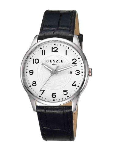 Kienzle - K3043012011-00047 - Montre Mixte - Quartz Analogique - Bracelet Cuir Noir