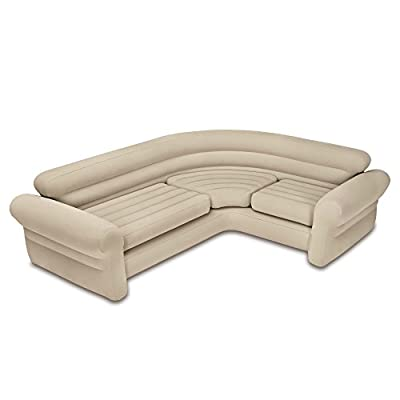 "Intex Inflatable Corner Sofa, 101"" X 80"" X 30"""