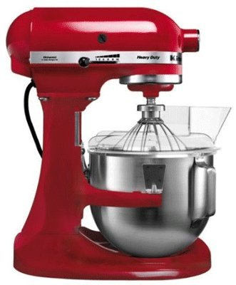 KitchenAid K5 Heavy Duty Mixer Empire Red - 5KPM5BER from Kitchenaid
