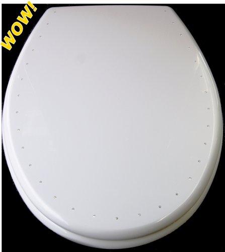 toilettendeckel hamberger 529608 wc sitz mit deckel costa diamond wei mit softclose. Black Bedroom Furniture Sets. Home Design Ideas