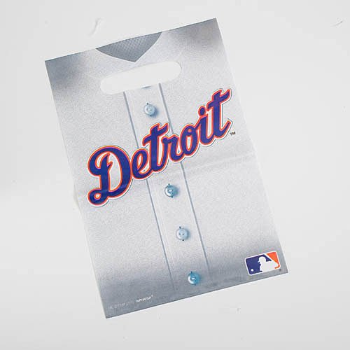 Tigers Loot Bags Package of 8