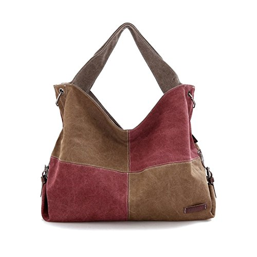 Walcy Explosion Models Canvas Women's Handbag,Square Cross-Section Cross-Section Bag HB880043C1 (Panasonic Sharpener 4 compare prices)