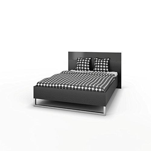 Doppelbett INFINITI Bettgestell Ehebett Bett Schlafzimmer 140x200 Esche Dekor
