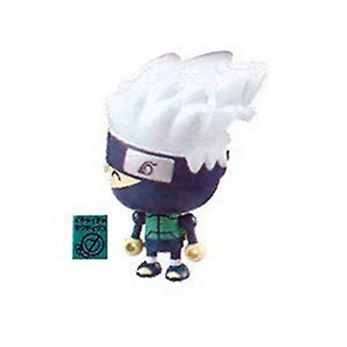 "Kakashi ~1.5"" mini-figure with Make Out Tactics charm (+ ~0.25"" stand) [Naruto Shippuden Thumbnaillook Series] (Japanese Import) - 1"