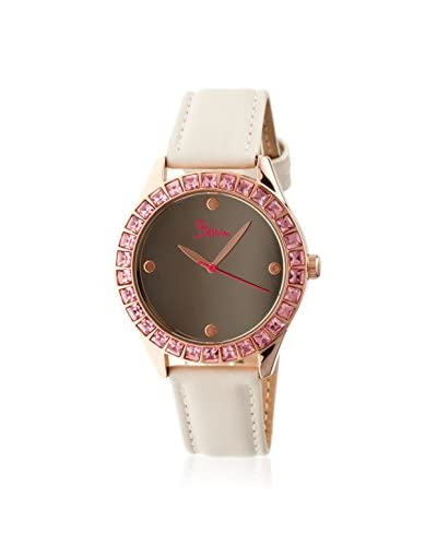 Boum Women's BM2001 Chic Eggshell Leather Watch