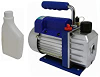 3 CFM Single-stage Rotary Vane Vacuum Pump R410a R134 Hvac A/c Air Refrigerant by T-Motorsports