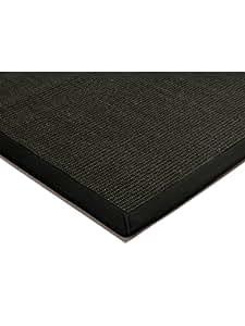 benuta tapis de salon moderne sisal pas cher noir 68x300 cm sans pollution. Black Bedroom Furniture Sets. Home Design Ideas