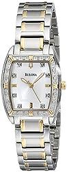Bulova Women's 98R159 Two-Tone Bracelet Watch