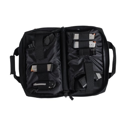 Smith and Wesson M&P Double Handgun Case, Black