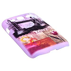 Phone Hard Back Cover Case with London Tower Bridge Pattern for Samsung Galaxy S3 i9300