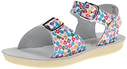 Salt Water Sandals by HOY Shoe Surfer Sandal (Infant/Toddler/Little Kid),Floral,3 M US Infant