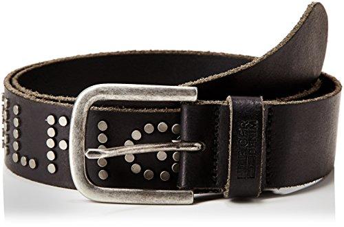 Hilfiger Denim Studded belt 8-Cintura Uomo    Nero (Tommy Black) 100 cm