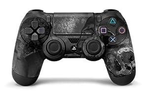 PS4 Controller Designer Skin for Sony PlayStation 4 DualShock Wireless Controller - Bones Black
