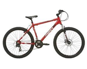 Mizani Men's Summit FD Mountain Bike - Red, 17 Inch