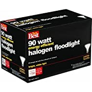Indoor/Outdoor Halogen Floodlight Light Bulb-90W PAR38 2PK FLOOD BULB