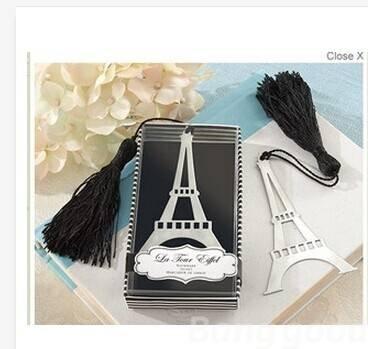 easyshop Neue Liebe Eiffelturm Alloy Lesezeichen Kreative Tassel Box von easyshop4u auf Gartenmöbel von Du und Dein Garten