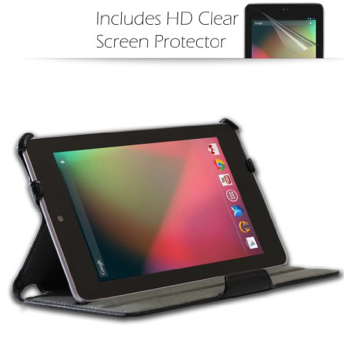 Lowest Price! Blurex Ultra-Slim Case for Google Nexus 7 inch Tablet -- With built in Multi-Angle Sta...
