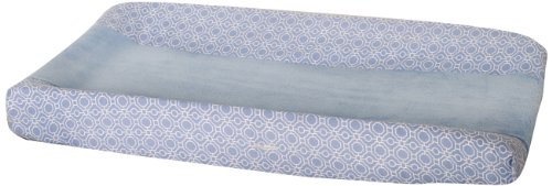 Dena Indigo Changing Pad Cover, Blue/White (Discontinued by Manufacturer)