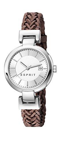 Esprit Damen-Armbanduhr XS Analog Quarz Leder ES107632008