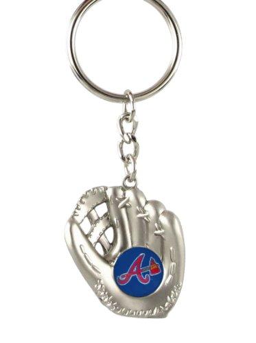 Atlanta Braves - MLB Silver Baseball Glove Keychain