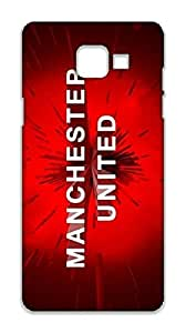 Samsung Galaxy A5 2016 Manchester United Football Club Design Back Cover - Printed Designer Cover - Hard Case - SGA5NCMBMUFC0122