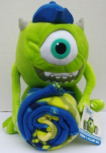 Disney Monster'S University Mike Wazowski Hugger Throw & Pillow Set front-103278