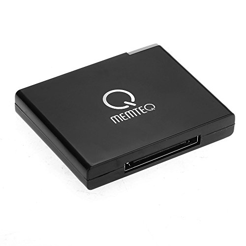 MEMTEQà Récepteur Adaptateur Bluetooth Sans Fil 2.0 Musique pour Apple iPhone iPad Noir