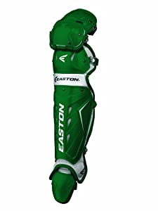 Easton Adult Force Catchers Leg Guards (Green) by Easton