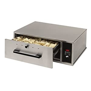 Star Mfg Narrow Food Warming Drawer w/ LED Display