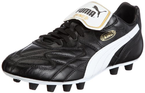 Puma King Top K di FG Football Shoes Mens Black Schwarz (black-white-team gold 01) Size: 5.5 (39 EU)