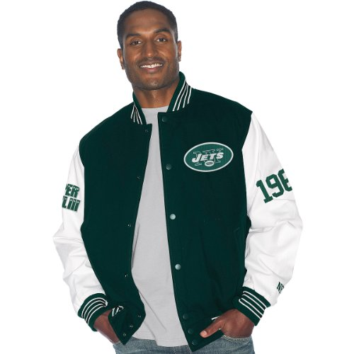 New York Jets Super Bowl III Champions Varsity Jacket