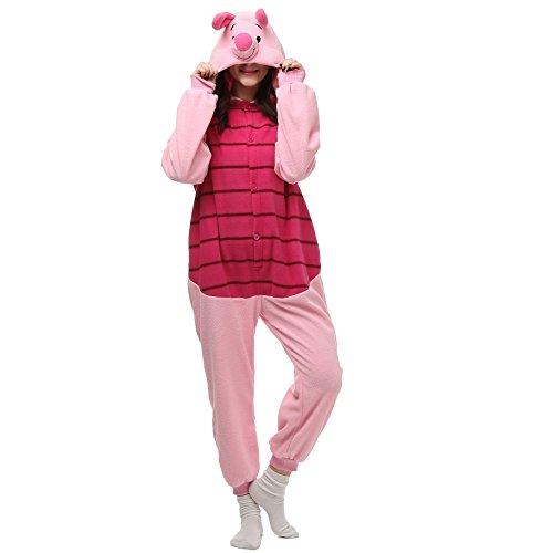 VU ROUL Adult Kigurumi Onesie s Frozen Soft Plush Costume Pyjamas