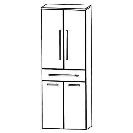 Puris Speed (HNA056AW Bathroom High Cabinet 60 CM