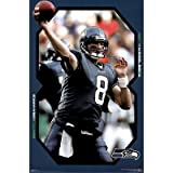 (24x36) Seattle Seahawks (Matt Hasselbeck) Sports Poster Print at Amazon.com