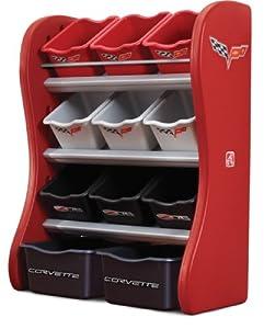 Step2 Corvette Room Organizer, Red/Black/Gray from Step2