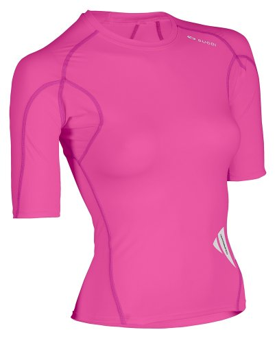 Buy Low Price Sugoi Women's Piston 140 Short Sleeve Compression Top – 2011 (19579F.611)