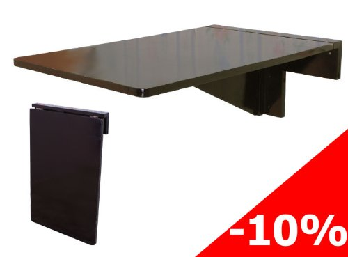 Frunty table murale rabattable en bois table pour les for Table de cuisine murale rabattable