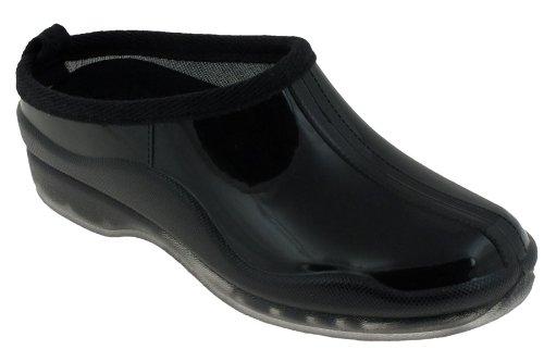 Capelli New York Shiny Solid Slip-On Basic Body Jelly Shoe Black 10