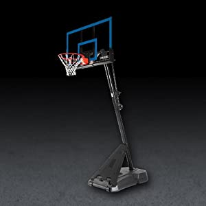 Buy Spalding Hercules Portable Basketball Hoop with 50-Inch Acrylic Backboard by Spalding