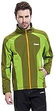 DEEKO Men39s Outdoor Soft Shell Warm Windproof Fleece Jacket D404M - 2 - XL